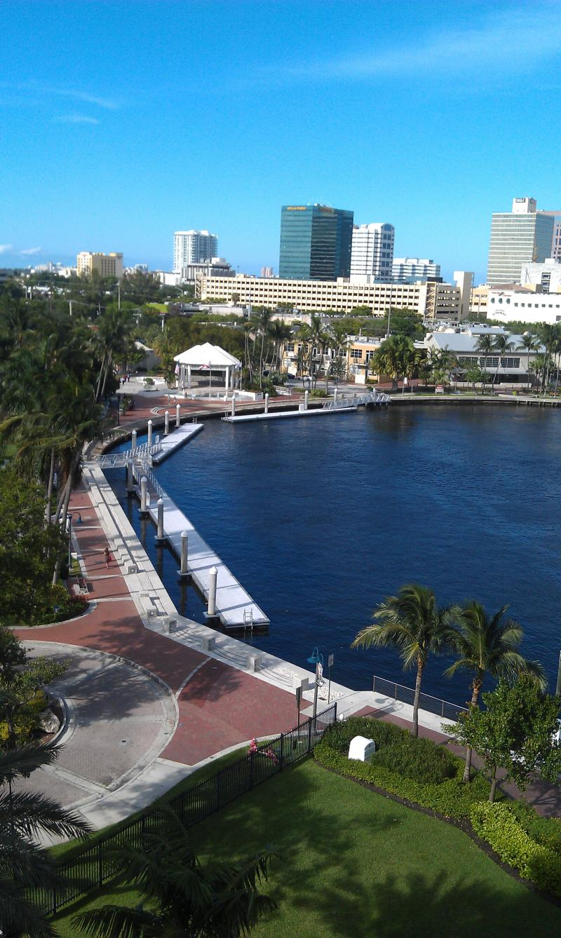 "Elizabeth Wentworth from Fort Lauderdale thinks that the new name ""Lauderdale County"" would increase community pride and the place that best represents the County: Riverwalk in Fort Lauderdale."