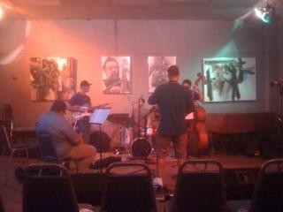 Aaron Lebos at WLRN performing on Evenin' Jazz