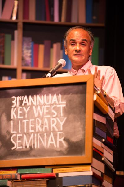 "Pico Iyer at ""Writers on Writers."""