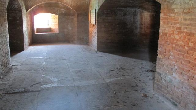 Dr. Mudd's cell in Fort Jefferson