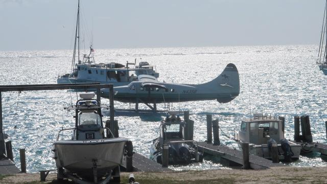 A seaplane, Dry Tortugas National Park