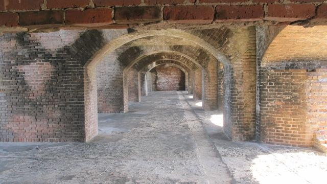 Archway of Fort Jefferson, Dry Tortugas National Park