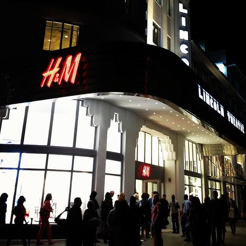 The Lincoln is now an H&M department store.