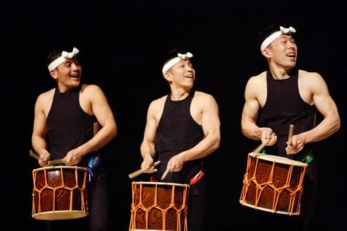 Kodo 鼓童 performs at the Festival of the Arts Boca on Friday, March 8th.