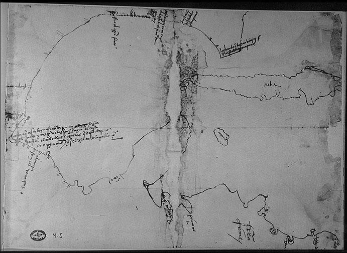 Pineda Map circa 1520