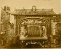 The ornate screen and room of The Olympia (now Gusman Center) on Flagler in downtown Miami.