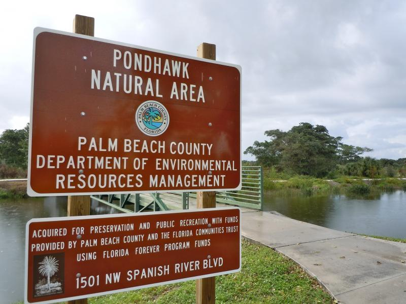 Pondhawk Natural Area in Boca Raton is among the newer additions to the ERM family.