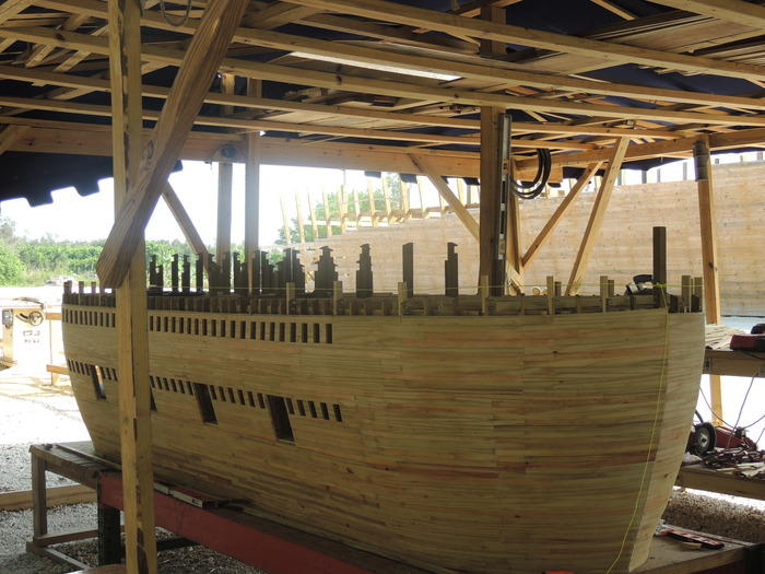 The model of the ark
