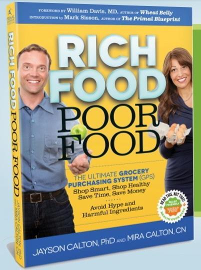 Rich Food/poor Food:  The Ultimate Grocery Purchasing System