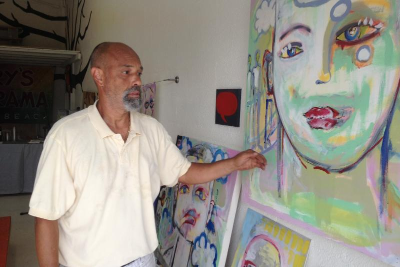 Artist Rolando Chang Barrero is spearheading the effort to grow Boynton Beach's arts scene.