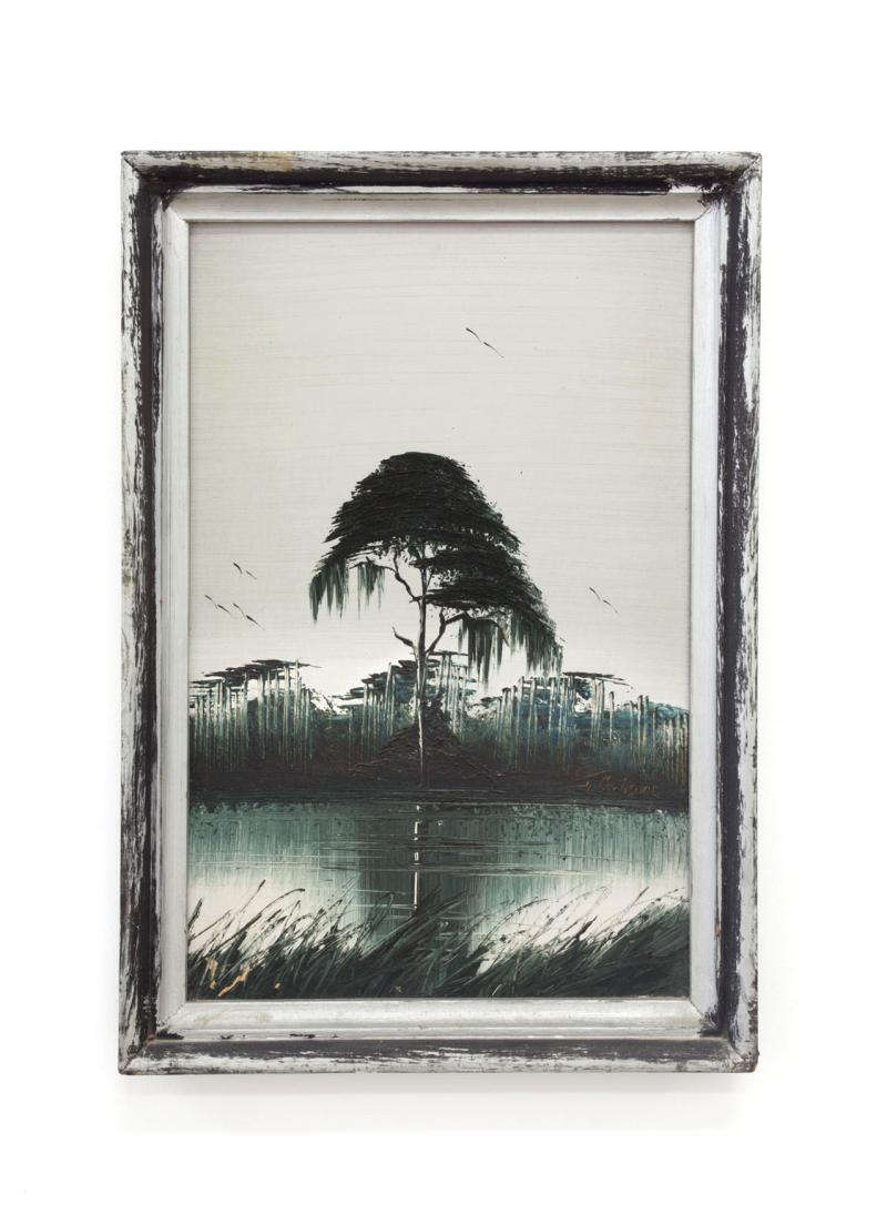 "James Gibson, ""Swamp Silhouette"""