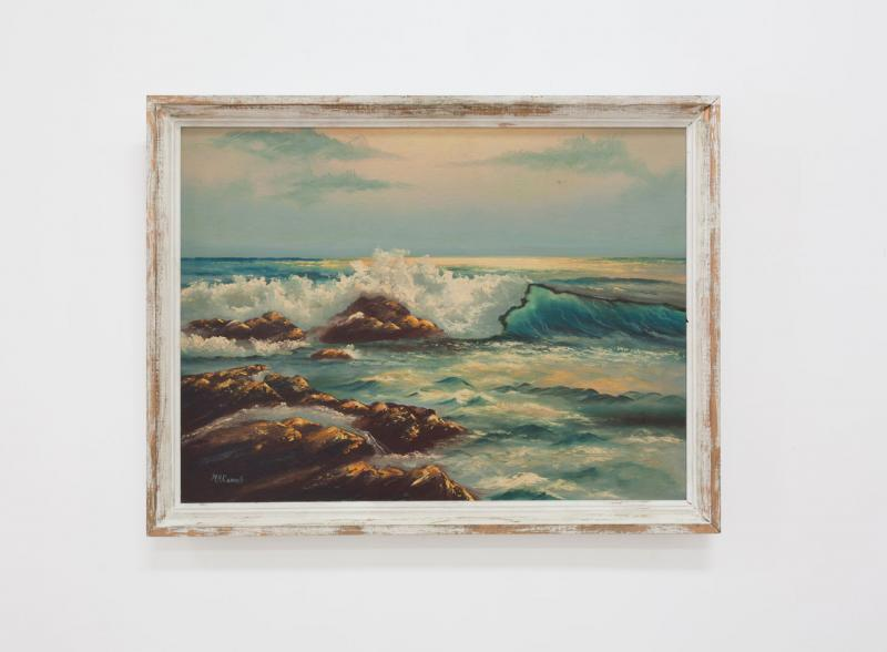"Mary Ann Carroll, ""Seascape"""