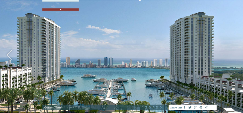 Marina Palms website