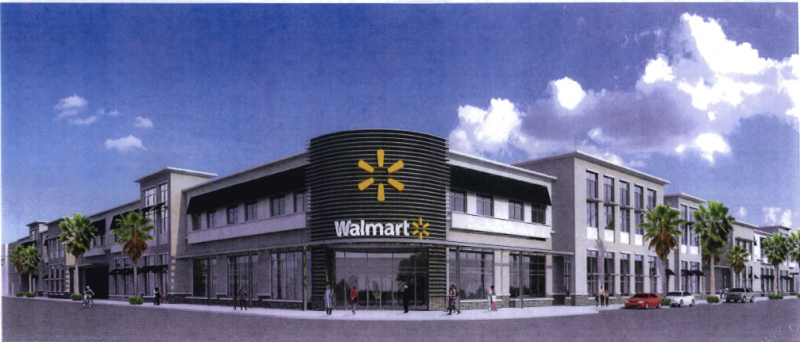 The design plans for the proposed Walmart in Midtown have passed muster with Miami's planning director.