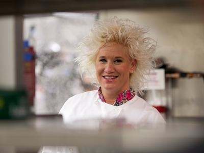 Anne Burrell of Food Network