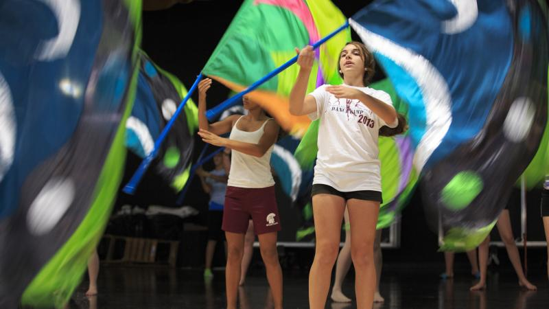 The Tarpon Springs Color Guard