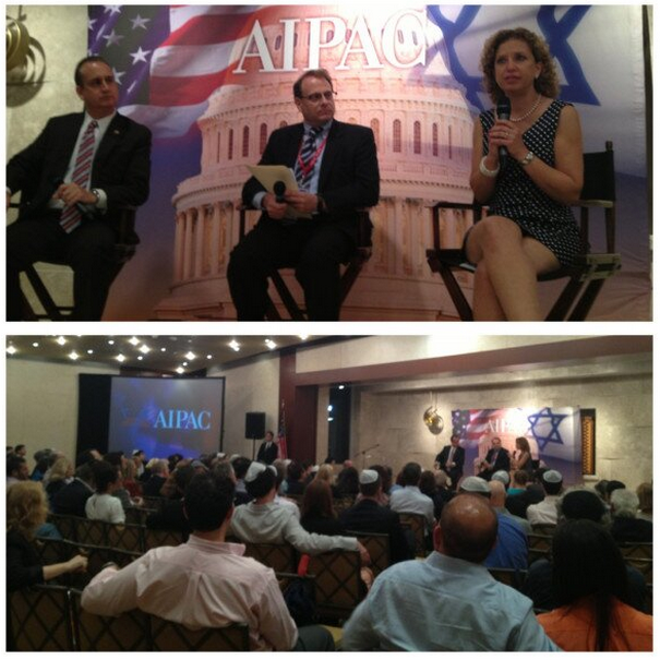 AIPAC briefing on Miami Beach.