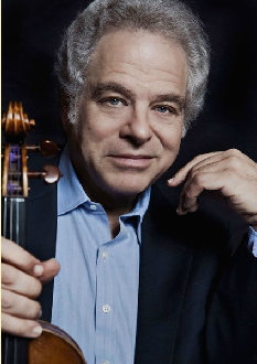 Itzhak Perlman at Kravis Center, West Palm Beach.