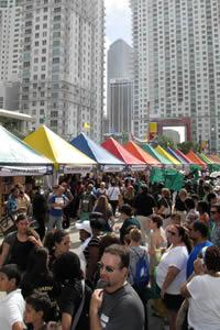 During Street Fair weekend, more than 250 publishers and booksellers exhibit and sell books