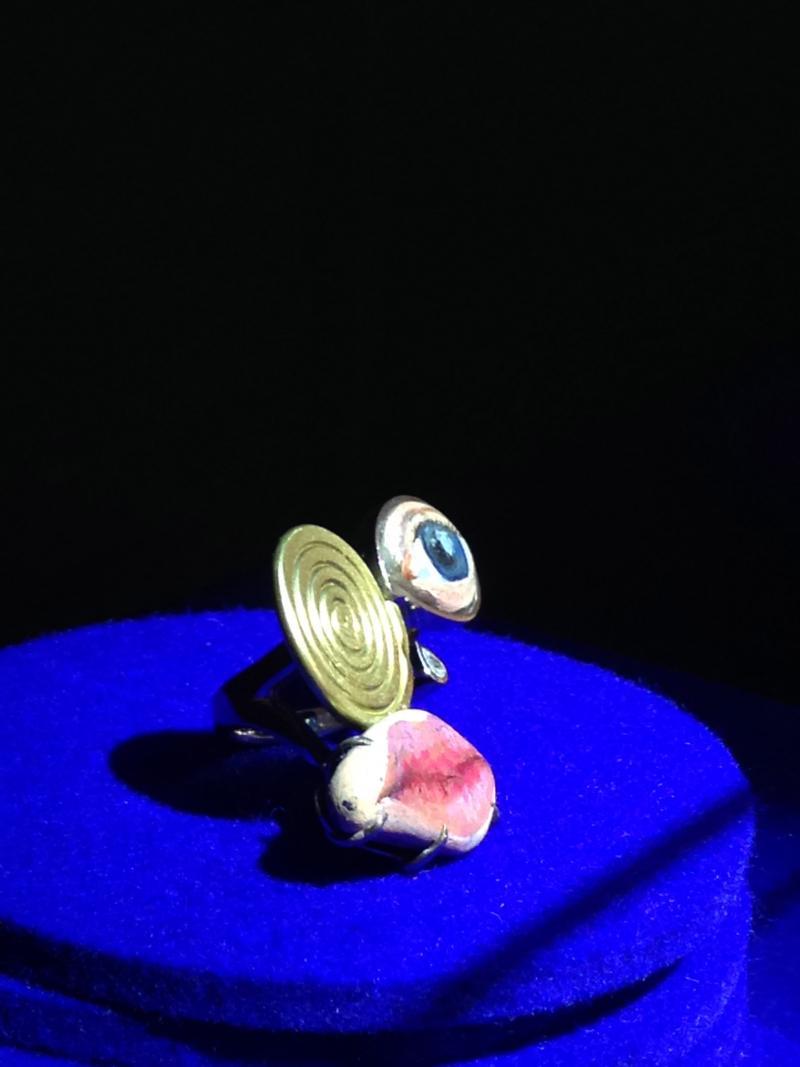 Ring on display at Design Miami.