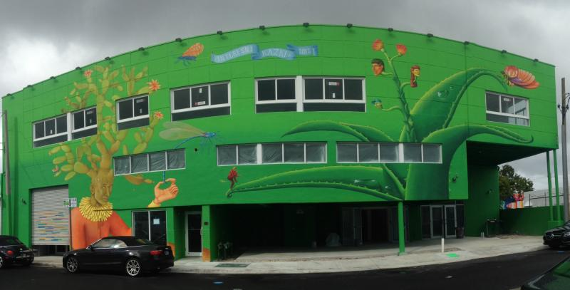 A mural in Wynwood by street artist group Interesni Kazki.