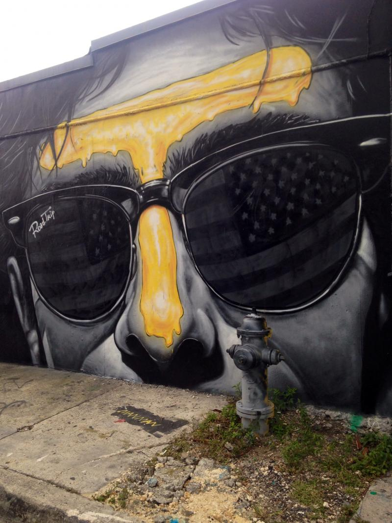 MTO's street art near Panther Coffee in Wynwood.