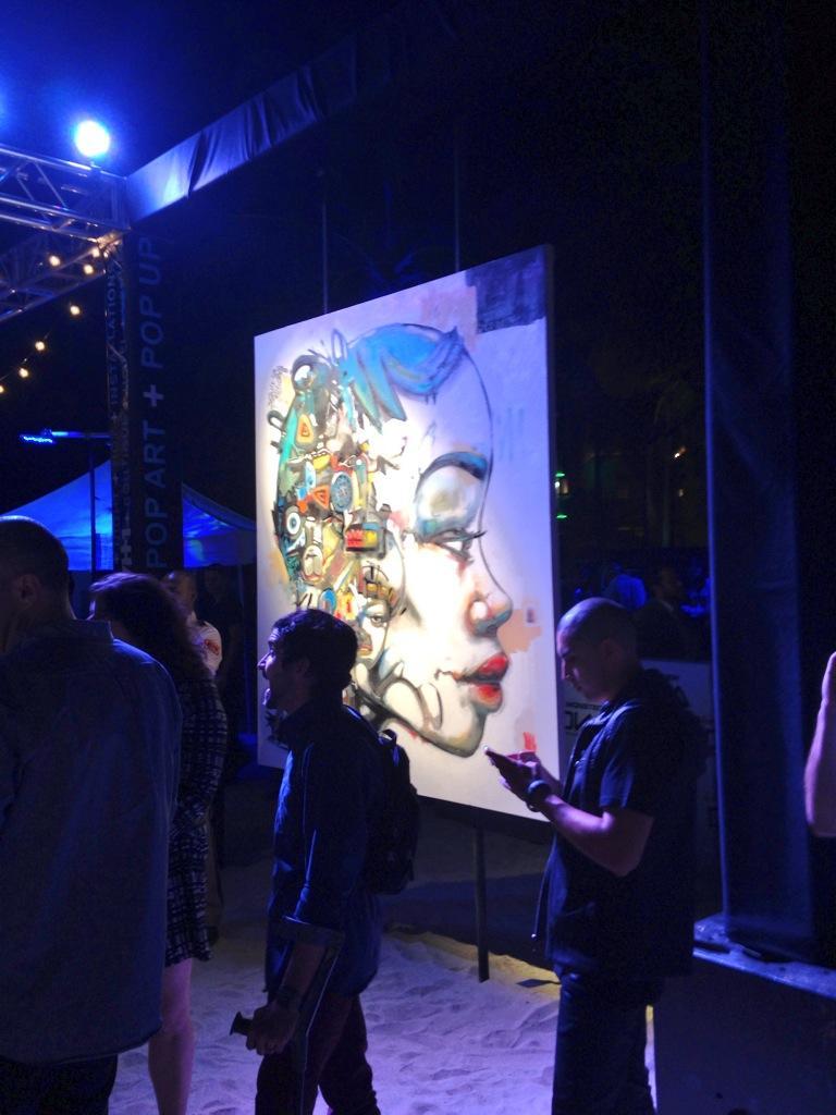 Event at Scope Art Fair.