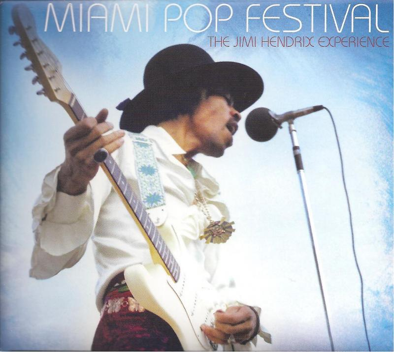 Jimi Hendrix at the Miami Pop Festival in 1968