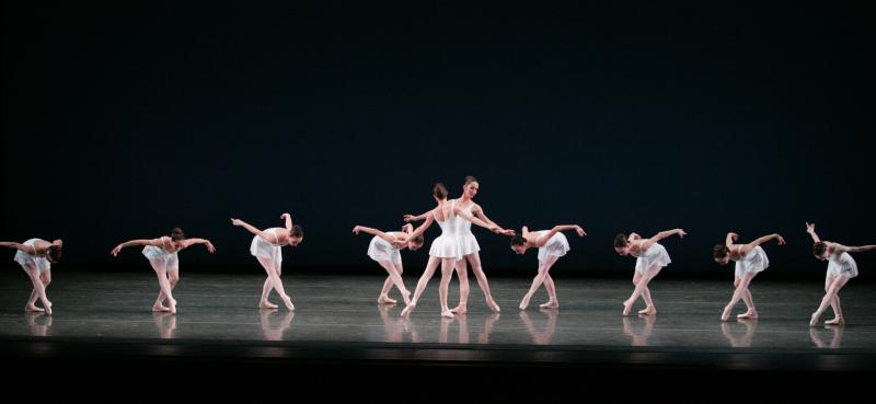 "George Balanchine's ""Concerto Barocco"" opens Program II, Hear the Music."