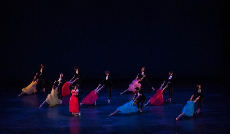 "Alexei Ratmansky's ""Symphonic Dances"" closes the show."