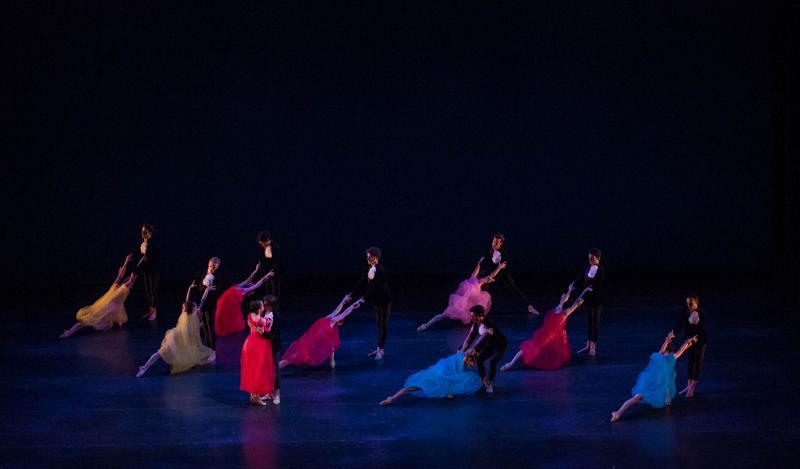 """Alexei Ratmansky's """"Symphonic Dances"""" closes the show."""