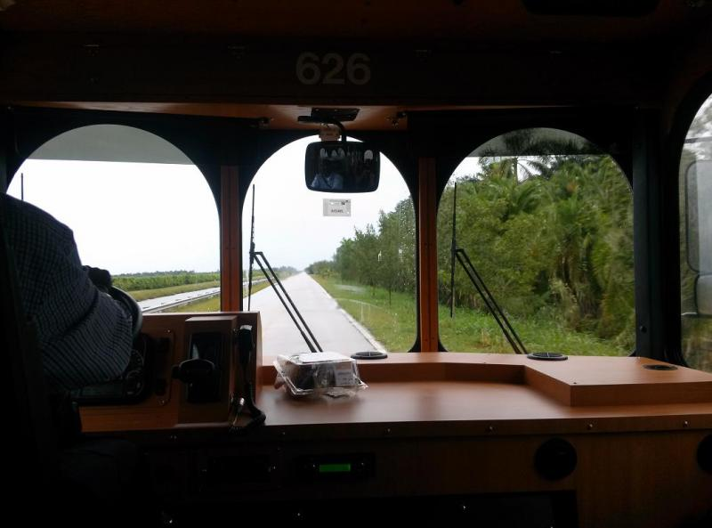 On the road to Biscayne National Park.