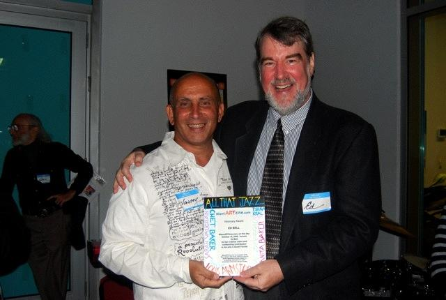 Harvey J. Burstein with SFAB host and producer Ed Bell