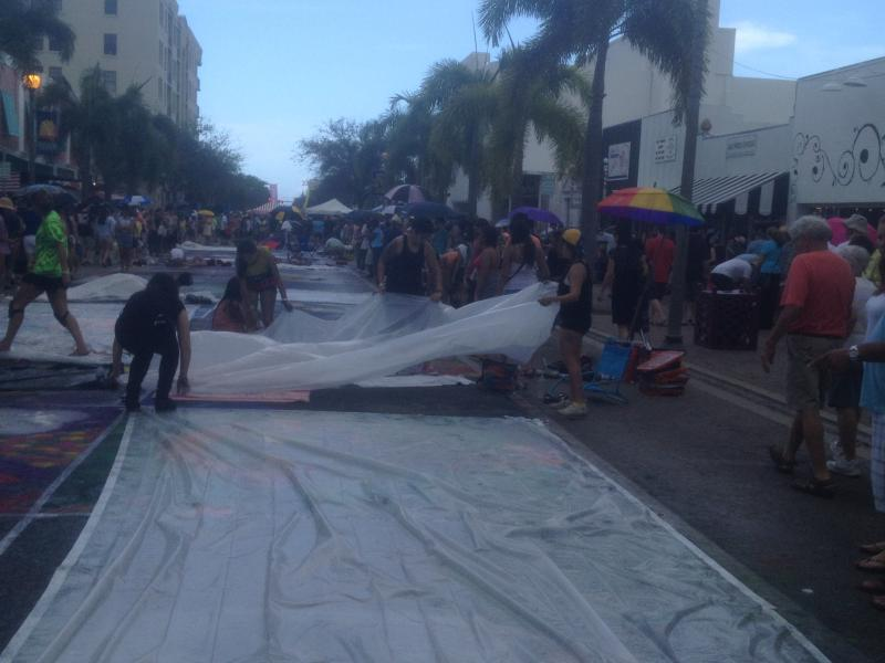 Lake Worth's 20th Annual Street Painting Festival