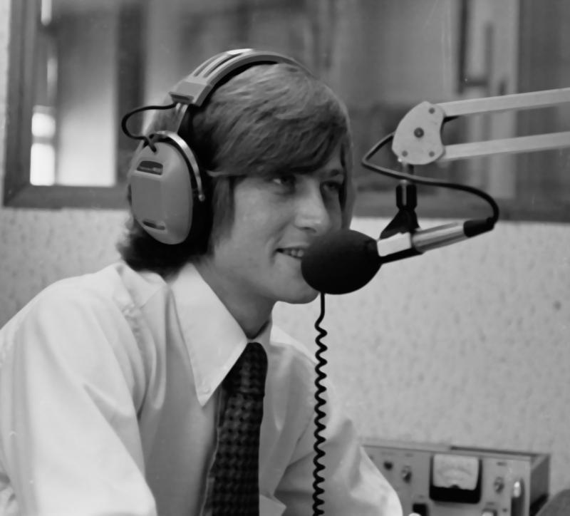 Joseph Cooper circa 1977 at WLRN