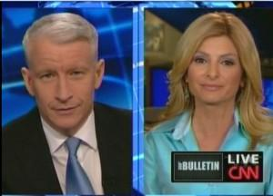 Lisa Bloom with Anderson Cooper on CNN
