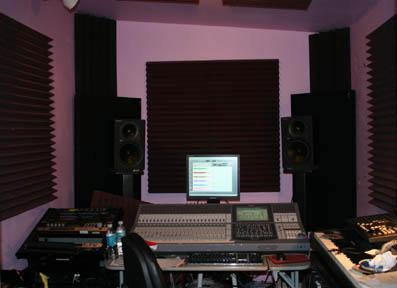 Mike's recording studio