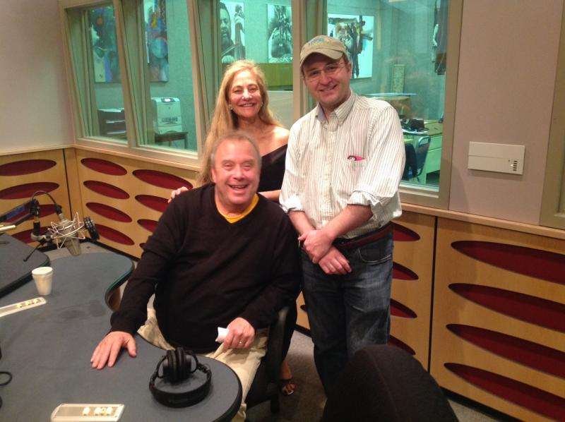 T.D. Allman, Bonnie Berman and Paul Leary