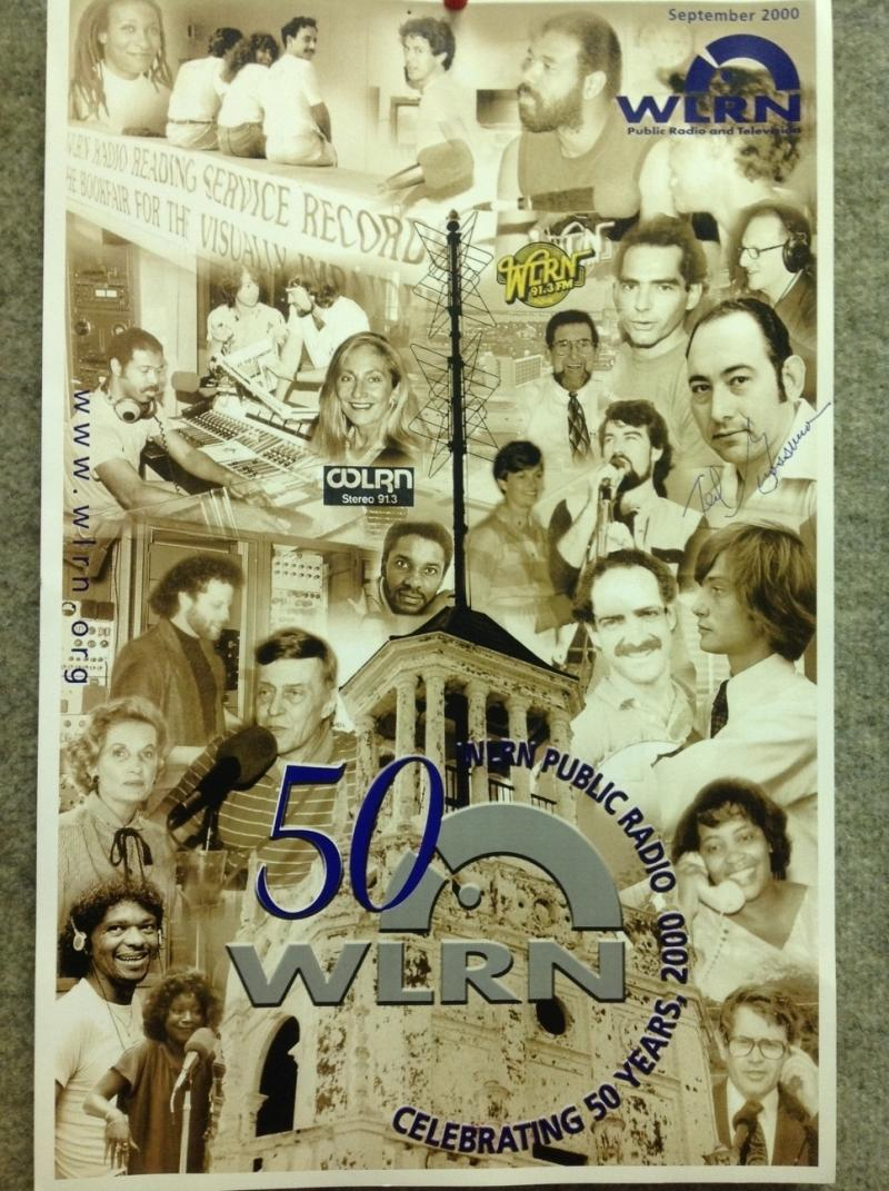 WLRN celebrating 50 years in 2000.