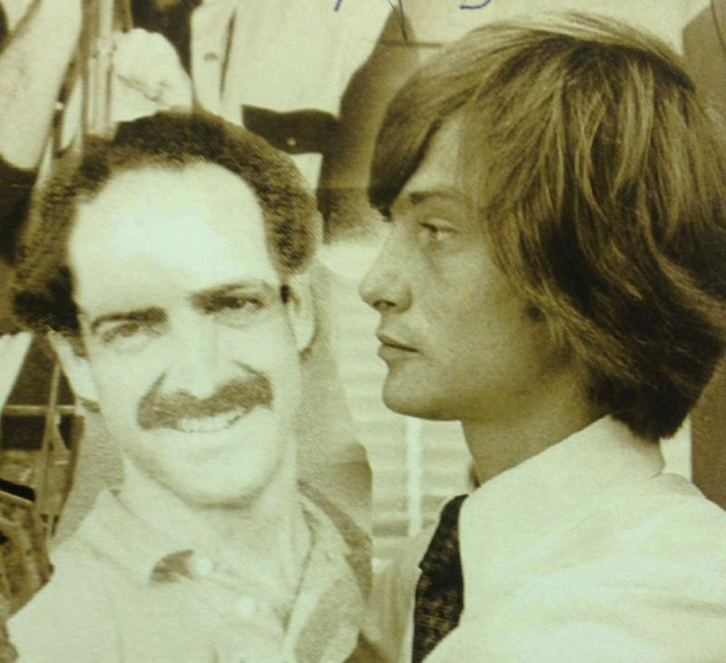 Michael Stock and Joseph Cooper circa 1977