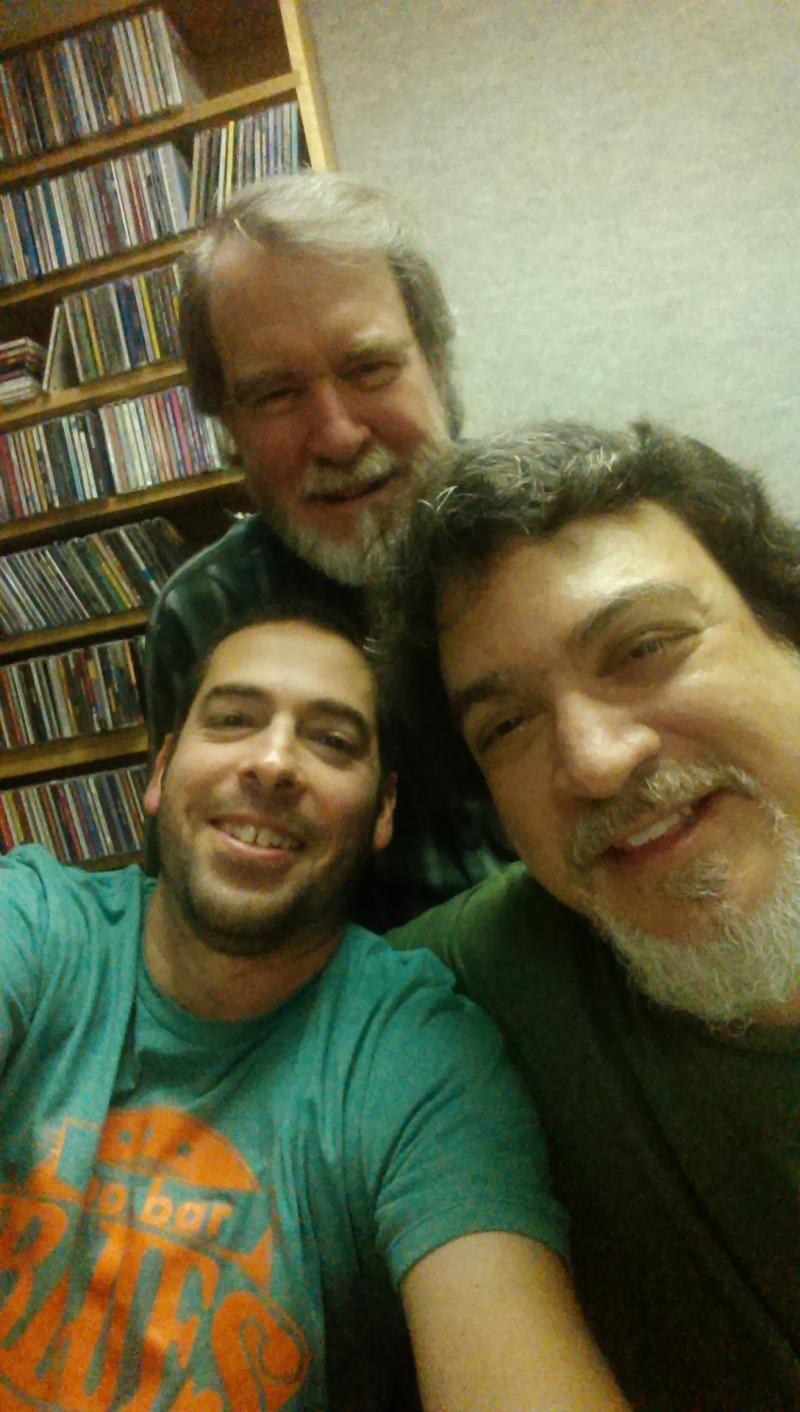 Albert Castiglia, Bob Weinberg and Ed Bell