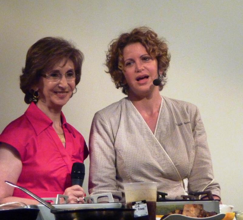Linda Gassenheimer and Celebrity chef Michelle Bernstein