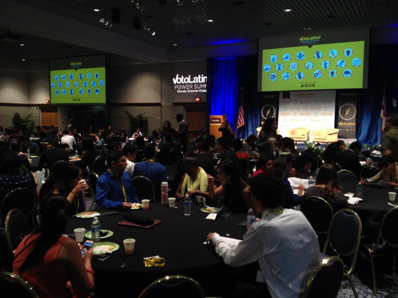 Over 200 Latino Millennials attended the conference at Florida International University on June 14, 2014.