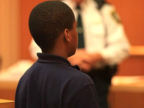A child appearing in Pinellas County juvenile court.
