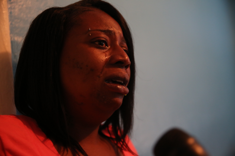 Gaynesha Williams recounts the day her 16-year-old son's bedroom ceiling fell on him.