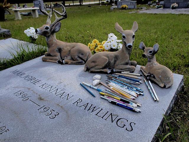 The author's grave at Antioch Cemetery near Island Grove, FL