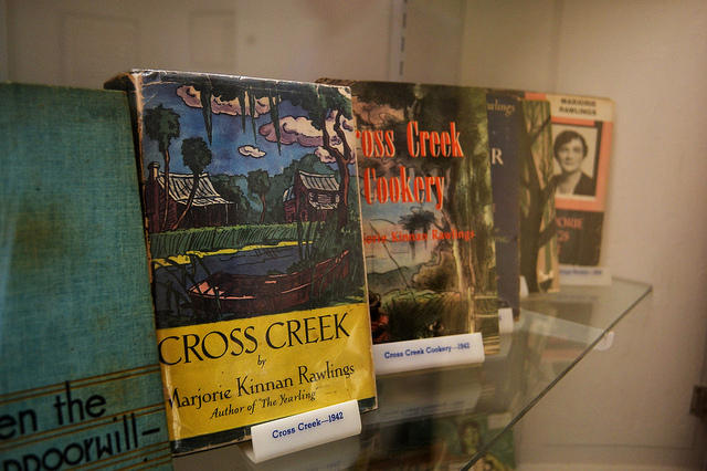 The park showcases the life and times of Marjorie Kinnan Rawlings but does not sell her works.