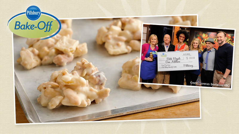 47th Bake-Off® Contest Grand Prize Winner. Live on air, the $1 million prize was awarded to Beth Royals from Richmond, Virginia