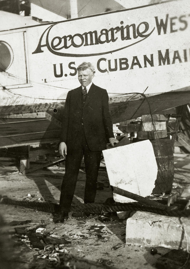 Aeromarine Airway began flying between Key West and Cuba in the 1920s.