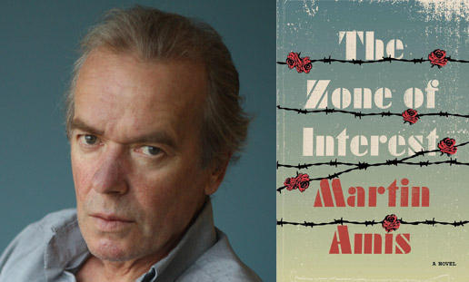 Martin Amis and his latest novel is THE ZONE OF INTEREST